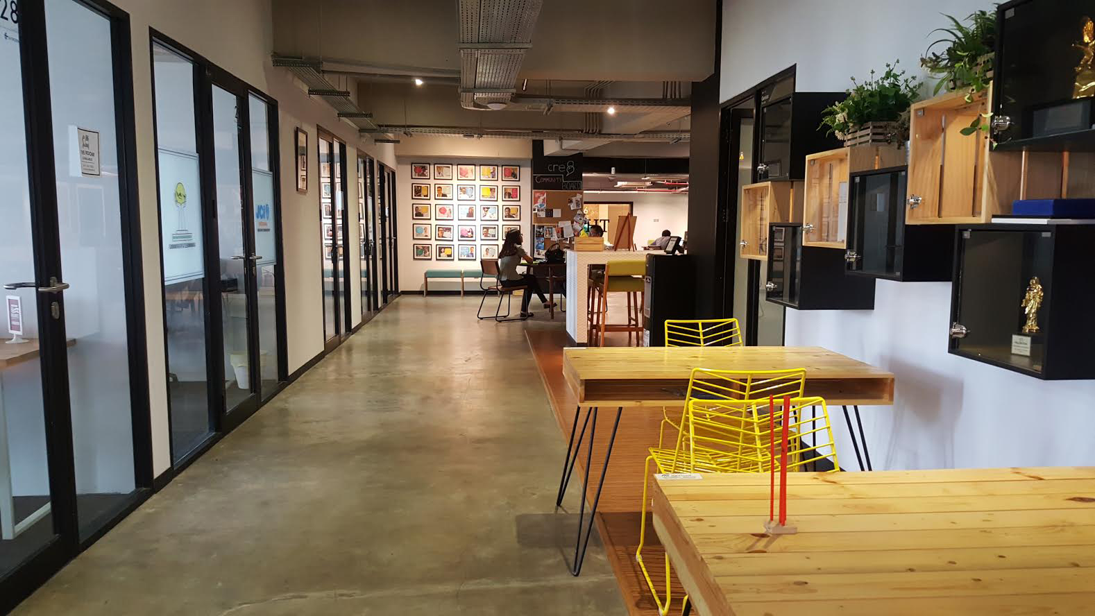 cool coworking space jakarta